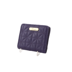 Buxton Slim ID Wallet Purple